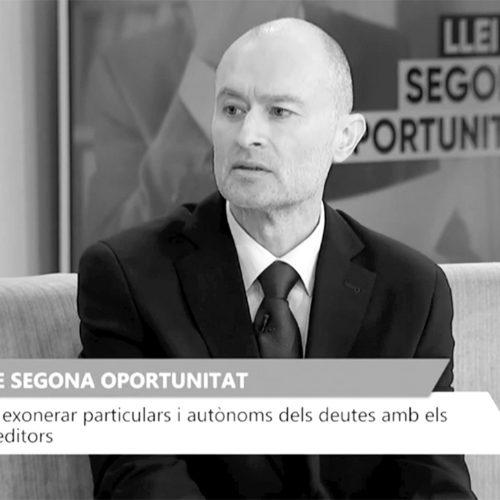 La ley de Segunda Oportunidad en Televisión Valenciana