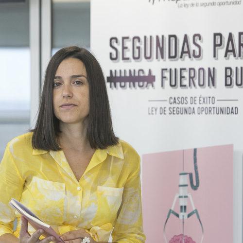 Alicia García, socia gerente de Repara Tu Deuda, habla sobre el libro de testimonios de la Ley de la Segunda Oportunidad
