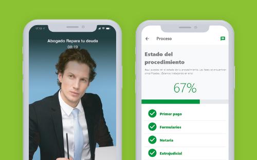Nueva App con videollamada para las reuniones con los abogados de la Ley de la Segunda Oportunidad