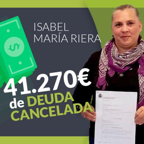 Una deuda de 41.270€ cancelada gracias a los abogados de Repara tu deuda.