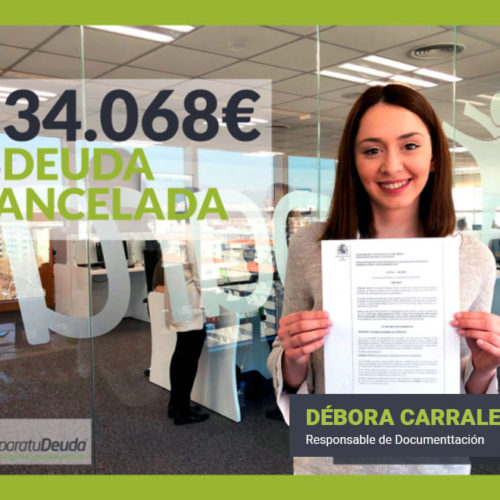 Los abogados de Repara tu Deuda cancelan la primera deuda en Bilbao