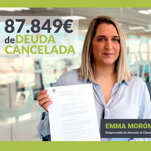 Emma Moron, directora del departamento de atención al cliente de Repara tu deuda abogados