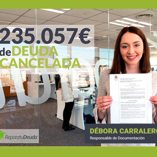 Repara tu Deuda Abogados cancela una deuda pública y una deuda privada de 235.057€ a una vecina de Barcelona