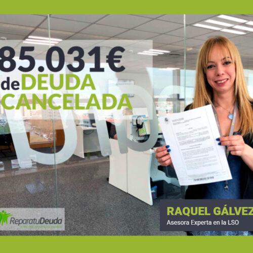 Repara tu Deuda libera a un matrimonio de 85.031€ gracias a la Ley de la Segunda Oportunidad