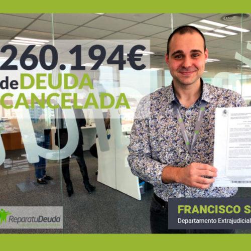 La Ley de la Segunda Oportunidad permite cancelar una deuda de 260.194€ en Mallorca