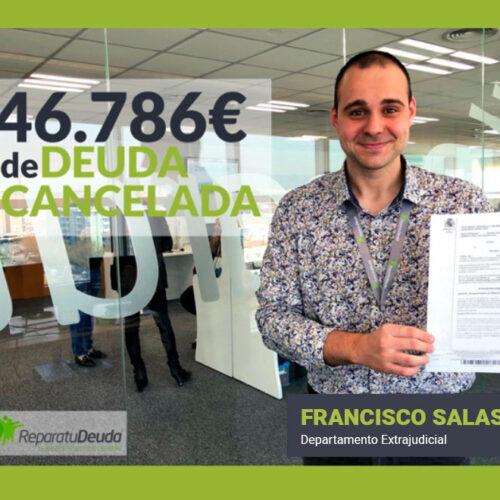 Repara tu Deuda libera a un vecino de Sevilla de 46.786€ de deuda