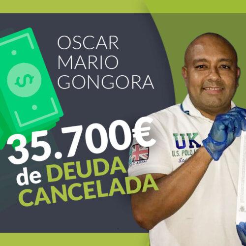 Repara tu Deuda libera a Oscar Gongora de 35.700€ de deuda en pleno confinamiento por coronavirus