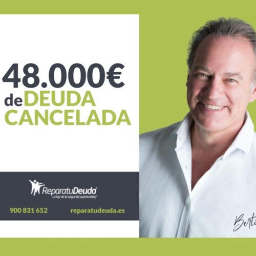Repara tu Deuda cancela una deuda pública y privada de 48.000€ gracias a la Ley de la Segunda Oportunidad