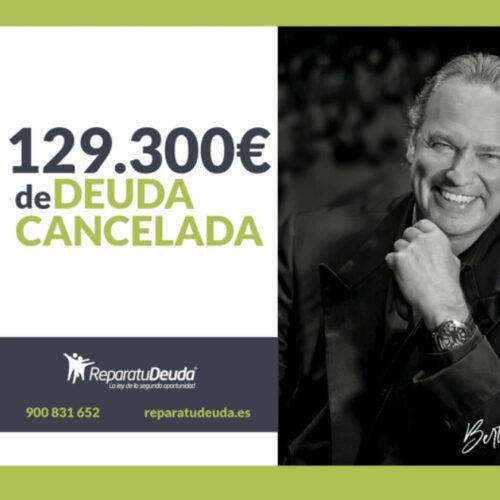 Repara tu Deuda, junto a Bertín Osborne, cancelan una deuda de 129.300€ de deuda en Vilanova