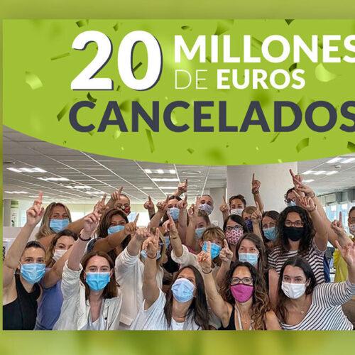 Repara tu Deuda Abogados alcanza los 20 millones de euros en cancelación de deudas gracias a la Ley de la Segunda Oportunidad
