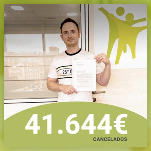 Repara tu Deuda Abogados consigue cancelar 41.644€ en Terrassa gracias a la Ley de la Segunda Oportunidad