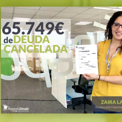 Repara tu Deuda cancela una deuda de 65.749€ en Sant Vicenç dels Horts (Barcelona) gracias a la Ley de Segunda Oportunidad