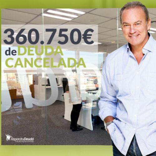 Repara tu Deuda cancela una deuda de 360.750€ en Guadalajara con La ley de la Segunda Oportunidad