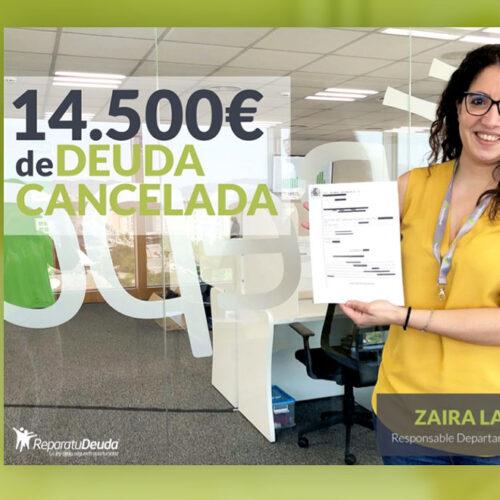 Repara tu deuda libera a un vecino de Madrid de su deuda de 14.500€ gracias a la Ley de la Segunda Oportunidad