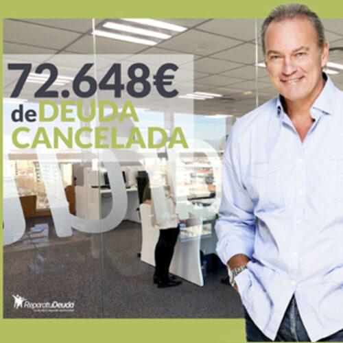 Repara tu Deuda libera a un vecino de Huesca de una deuda de 72.648€ gracias a la Ley de la Segunda Oportunidad