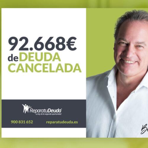 Repara tu Deuda Abogaos cancela una deuda de 92.668€ en Castellbell i el Vilar (Manresa) mediante la aplicación de la Ley de la Segunda Oportunidad