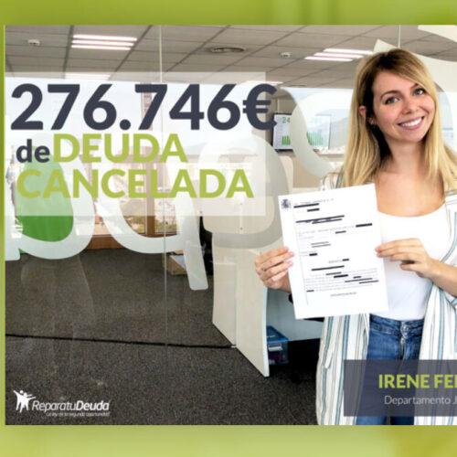 Repara tu Deuda cancela 276.746€ en Lérida (Catalunya) gracias a la Ley de la Segunda Oportunidad
