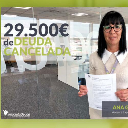 Repara tu Deuda Abogados cancela 29.500 € de deuda en Guadalajara con la Ley de Segunda Oportunidad