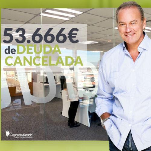 Repara tu Deuda cancela 53.666€ en Sant Boi de Llobregat (Barcelona) con la Ley de la Segunda Oportunidad