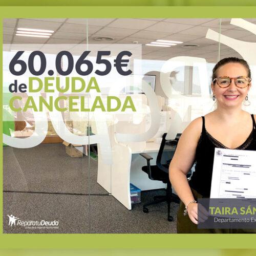 Repara tu Deuda abogados cancela 60.065 € a un vecino de Badajoz con la Ley de la Segunda Oportunidad