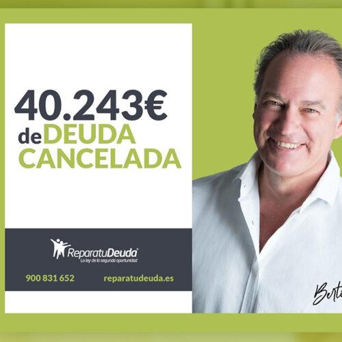 Repara tu Deuda cancela una deuda de 40.243 € en Granollers (Barcelona) con la Ley de Segunda Oportunidad