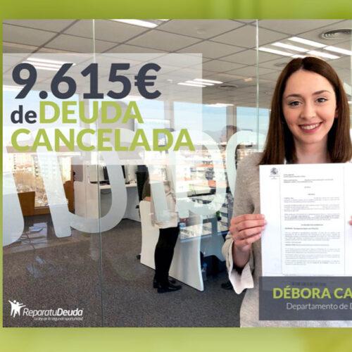 Repara tu Deuda abogados cancela 9.615€ con 5 Bancos en Barcelona con la Ley de la Segunda Oportunidad