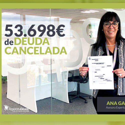 Repara tu deuda Abogados cancela 53.698 € con 23 bancos en Madrid con la Ley de Segunda oportunidad