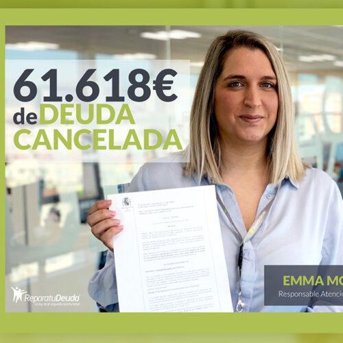 Repara tu deuda Abogados cancela 72.399 € en Madrid con la Ley de la Segunda oportunidad