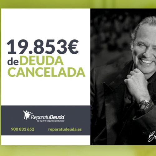 Repara tu deuda Abogados cancela 19.853 € en Madrid con la Ley de la Segunda oportunidad
