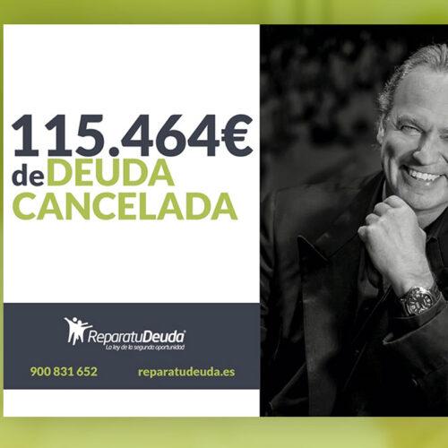 Repara tu Deuda Abogados cancela 115.464€ en Terrassa (Vallés occidental) con la Ley de Segunda Oportunidad