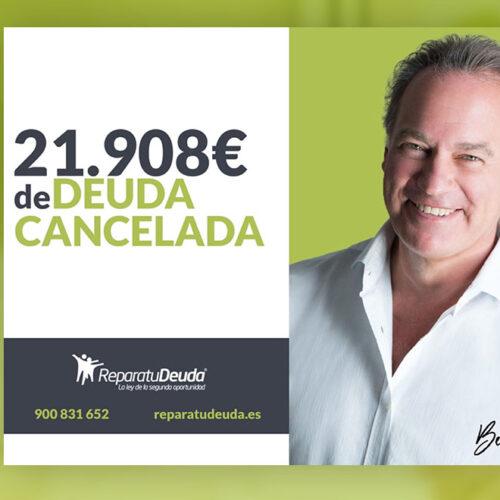 Repara tu deuda Abogados cancela 21.908 € en Murcia a una autónoma con la Ley de Segunda Oportunidad