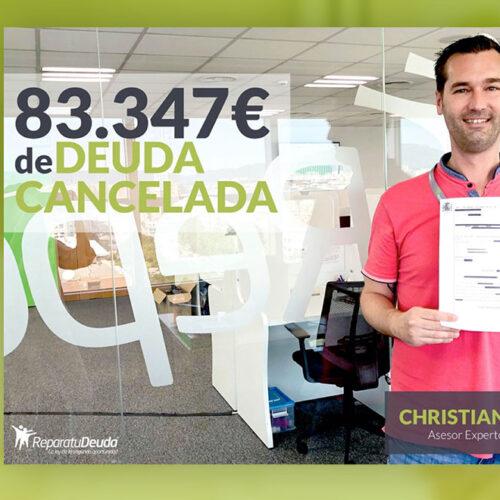 Repara tu Deuda cancela una deuda de 83.347 € en Sevilla a un matrimonio con la Ley de Segunda Oportunidad