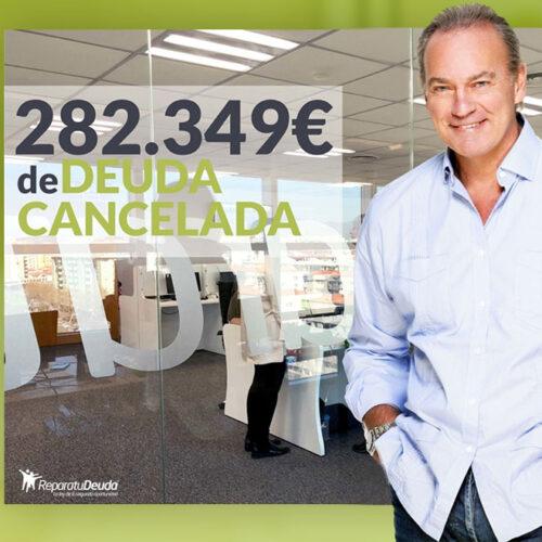 Repara tu Deuda Abogados cancela 282.468 € con deuda pública en Murcia con la Ley de Segunda Oportunidad