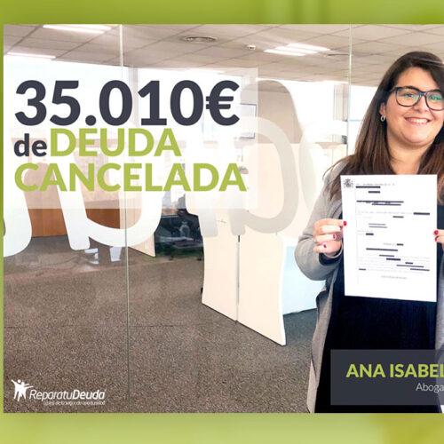 Repara tu Deuda cancela 35.010 € en Hospitalet de Llobregat, Barcelona con la Ley de Segunda Oportunidad