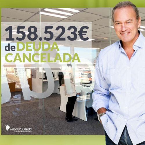 Repara tu Deuda abogados cancela 158.523 € en Zaragoza con la Ley de Segunda Oportunidad