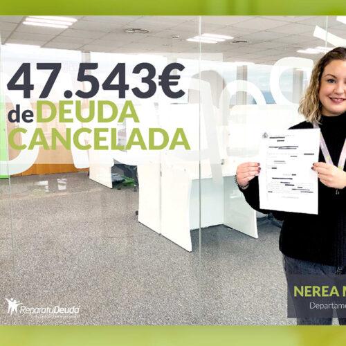 Repara tu Deuda abogados cancela más de 47.543 € en Olot (Girona) con la Ley de Segunda Oportunidad