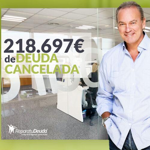 Repara tu Deuda Abogados cancela 218.697 € en Barcelona con la Ley de Segunda Oportunidad