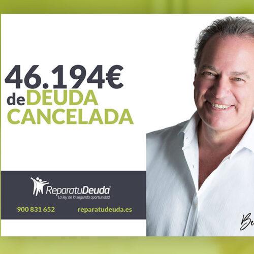 Repara tu Deuda Abogados cancela 46.194 € en Terrassa (Barcelona) con la Ley de Segunda Oportunidad