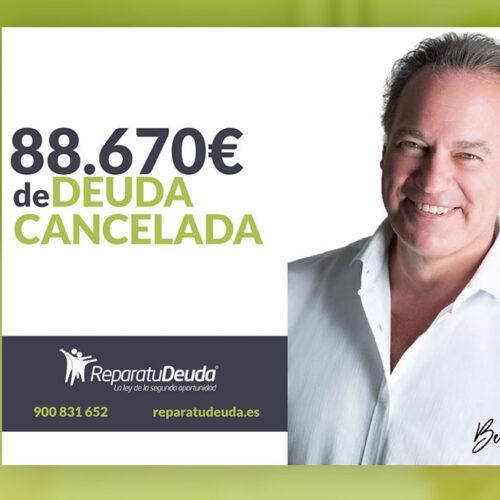 Repara tu Deuda abogados cancela 88.670 € en Avilés (Asturias) con la Ley de Segunda Oportunidad