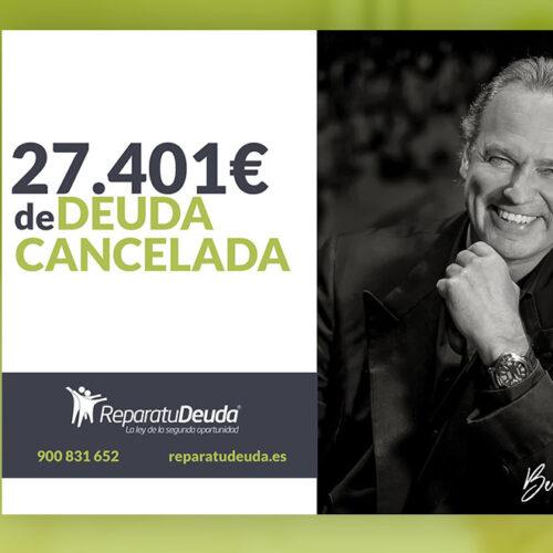 Repara tu Deuda cancela 27.401 € en Palma de Mallorca (Baleares) con la Ley de Segunda Oportunidad