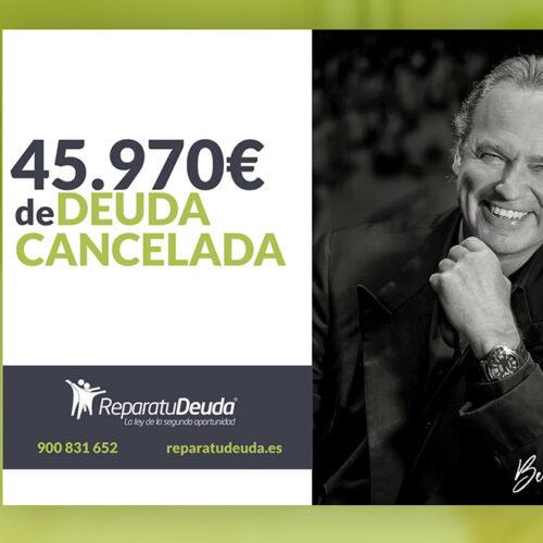 Repara tu Deuda Abogados cancela 45.970 € en Salamanca con la Ley de la Segunda Oportunidad