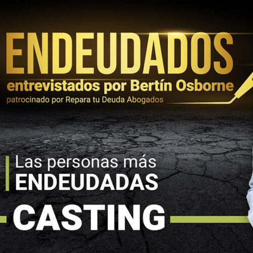 """Bertín anuncia su nuevo programa """"Endeudados"""" patrocinado por Repara tu Deuda Abogados"""