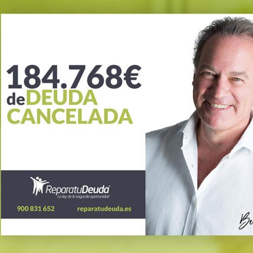 Repara tu Deuda Abogados cancela 184.768 € en San Vicente del Raspeig (Alicante) con la Ley de Segunda Oportunidad