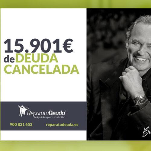Repara tu Deuda Abogados cancela 15.901 € en Madrid con la Ley de Segunda Oportunidad