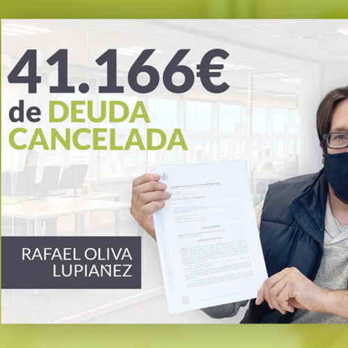 Repara tu Deuda Abogados cancela 41.166 € en Barcelona con la Ley de Segunda Oportunidad
