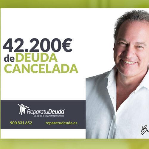 Repara tu Deuda Abogados cancela 42.200€ en Guadalajara con la Ley de Segunda Oportunidad