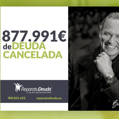 Repara tu Deuda Abogados cancela 877.991 € en Mataró (Barcelona) con la Ley de Segunda Oportunidad