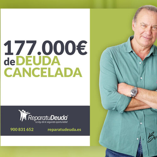 Repara tu Deuda cancela 177.000 € con deuda pública en Guadalajara  (Castilla-La Mancha) con la Ley de la Segunda Oportunidad