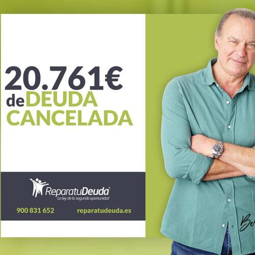 Repara tu Deuda Abogados cancela 20.761€ en Cornellà de Llobregat (Barcelona) gracias a la Ley de Segunda Oportunidad