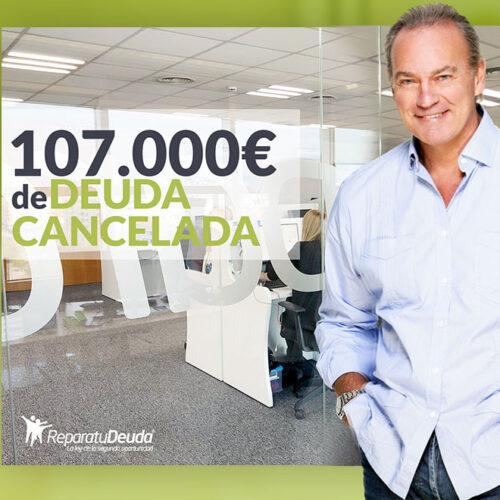 Repara tu Deuda Abogados cancela 107.000 € en Palma de Mallorca (Baleares) con la Ley de Segunda Oportunidad
